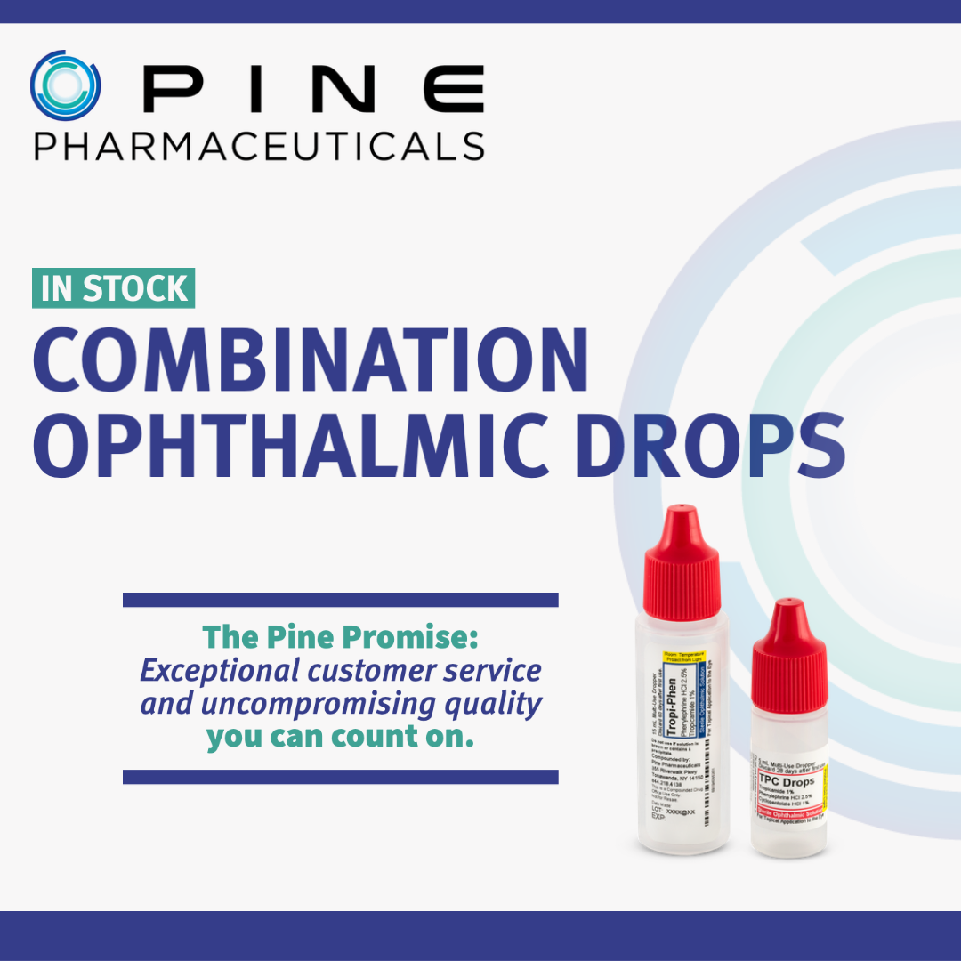 Combination Dilating Ophthalmic Drops | Pine Pharmaceuticals